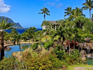 Steps from beach with award-winning pool - Princeville vacation rentals