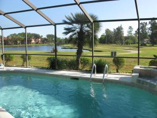 Stylish Villa with HEATED Pool, Golf & Lake View - Fort Myers vacation rentals
