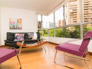 Chic 1 Bedroom Apartment with Views in El Poblado - Colombia vacation rentals