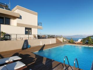 Villa with Private Pool and Panoramic Sea Views - Marathon vacation rentals