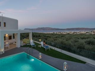 Modern private villa for up 10x, with pool & views - Chania vacation rentals