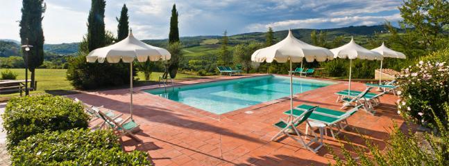 Villa Agrifoglio, with garden view, Wi-fi and pool - Image 1 - Radda in Chianti - rentals