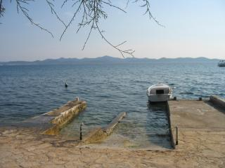 apartment at sea, first line, Diklo, Zadar, - Ugljan vacation rentals