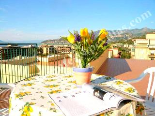 Apartment Sun in Sorrento centre with sea view - Campania vacation rentals