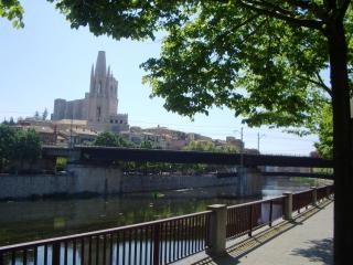 Bright, Riverside Apartment in a Great location - Sales De Llierca vacation rentals