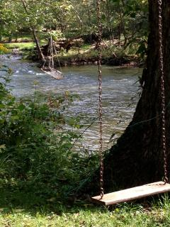 Family Camp on Jackson River w/rafts/canoes&teepee - Covington vacation rentals