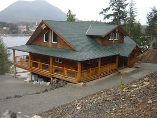 A beautiful fishing lodge overlooking the Ucluelet - Ucluelet vacation rentals
