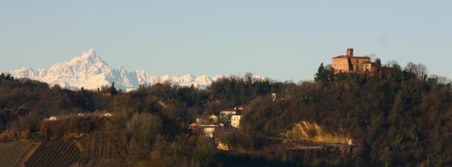 View from Casetta Chiara Balcony - Casetta Chiara - Vacation Home in Langhe and Roero with view and private garden - Santo Stefano Roero - rentals