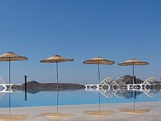 One of two infinity pools in the complex - Exquisite Beachfront Villa In Stunning Location - Yalikavak - rentals