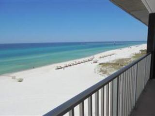 Balcony view overlooking the Gulf - Gorgeous 2 Bedroom with Private Pool at Edgewater Beach Resort - Panama City Beach - rentals