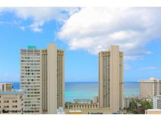 Waikiki Convenience Condo Ocean View Corner Unit with 270 Degree View - Honolulu vacation rentals