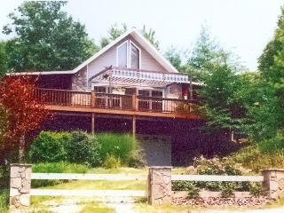 PRIVATE MT. TOP CHALET W/HTUB,WIFI, 3 TVS; - Ocoee vacation rentals