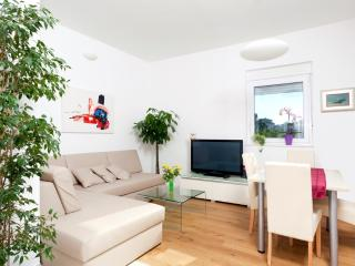 Deluxe one bedroom apartment with private garden - Podstrana vacation rentals
