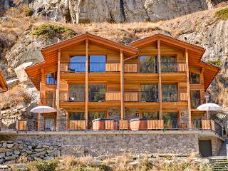 Chalet Castor Mountain Exposure Zermatt - freestanding, independent, hot tub - Zermatt vacation rentals