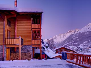 Chalet Castor- freestanding, independent, hot tub - Zermatt vacation rentals