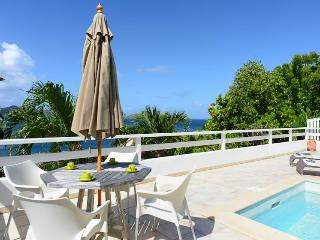Papillon Blanc at Pointe Milou, St. Barth - Ocean View, Amazing Sunset Views, Close To Beach and Restaurant - Marigot vacation rentals