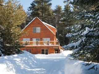 AWESOME LOG SIDED HOME RURAL SETTING - Sunday River Area vacation rentals