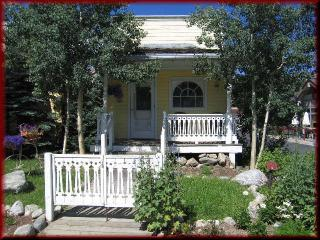Romantic Cottage for 2 + 2 Children on Main Street - Summit County Colorado vacation rentals