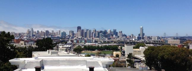 View from Private Deck - Potrero Hill Penthouse w/ City View - San Francisco - rentals