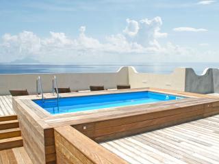 Penthouse w/ Huge Rooftop Terrace & Heated Pool, Short Walk to Beach & Restaurants - Cupecoy vacation rentals