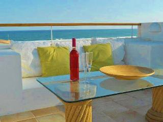 Beach Apartment with roof terrace, BBQ, sea views - Lagos vacation rentals