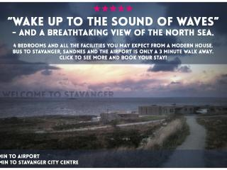 Wake up to the sound of waves - Stavanger vacation rentals