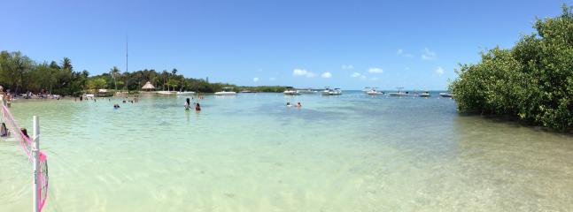 "White Sand Beach-  Next door at Founders - 5 minute walk from our unit...FREE! - Islamorada ""The Getaway"" Relax in Florida Keys! - Islamorada - rentals"