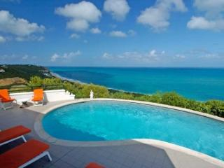 Ritzy 4 Bedroom Villa Overlooking the Caribbean Sea in Terres Basses - Baie Rouge vacation rentals