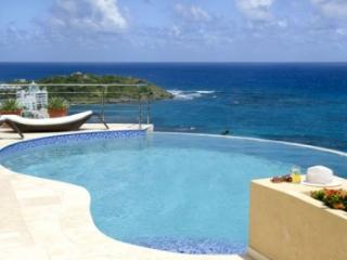 Impressive 3 Bedroom Hillside Villa in Oyster Pond - Dawn Beach vacation rentals