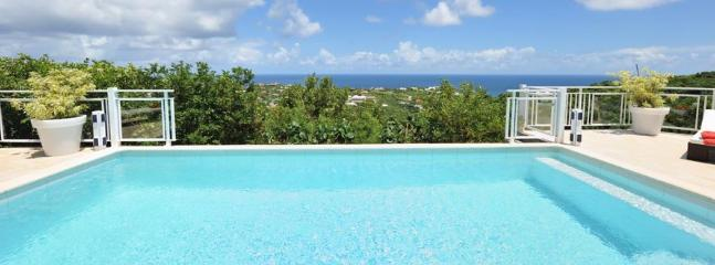 2 Bedroom Villa with Ocean View on the Hillside of Marigot - Image 1 - Vitet - rentals