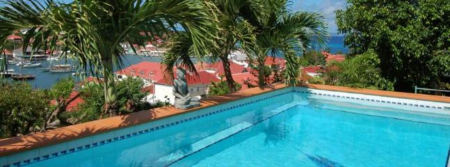 Spectacular 3 Bedroom Villa Overlooking the Harbour of Gustavia - Image 1 - Gustavia - rentals