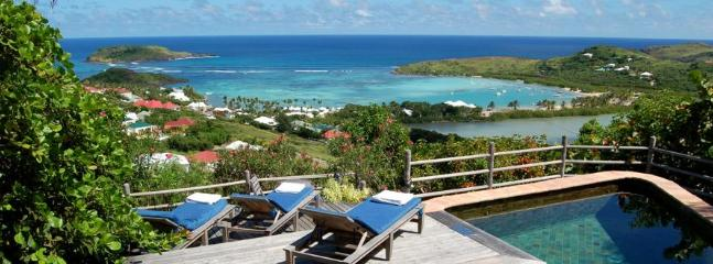 2 Bedroom Villa Overlooking the Grand Cul de Sac Lagoon in Marigot - Marigot vacation rentals