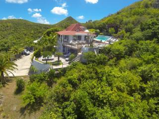 Private 4 Bedroom Villa with Ocean View in Flamands - Saint Barthelemy vacation rentals