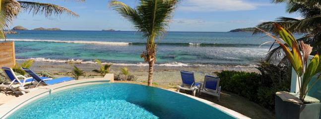 2 Bedroom Beachfront Villa in Anse des Cayes - Anse Des Cayes vacation rentals