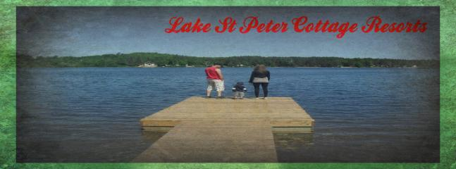 A beautiful view from our Beach - Lake St Peter Cottage Resort - Elderbank - rentals