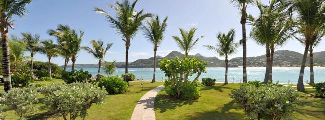 1 Bedroom Beachfront Villa in Saint Jean - Image 1 - Saint Jean - rentals