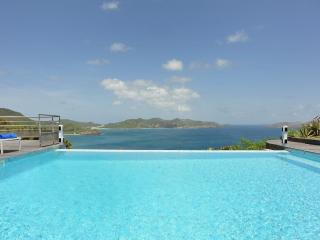 2 Bedroom Villa with Panoramic View of the Ocean in Pointe Milou - Pointe Milou vacation rentals
