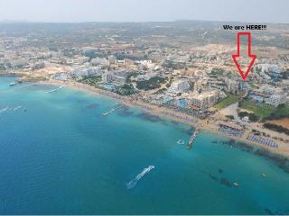'Leukolla' 2 Bedroom Sea View apar.Protaras Centre - Protaras vacation rentals