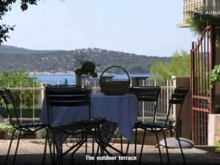 A yard with sea view - Zaboric vacation rentals