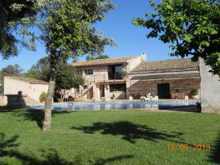 ( finca-villa rural Cas contador )   gran piscina - Balearic Islands vacation rentals
