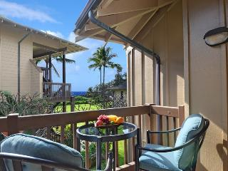 Kaha Lani 216, Beachfront Resort near Kapaa, $1050 per week, 2bdrm/2bath, Ocean Views, 960 sq feet - Lihue vacation rentals