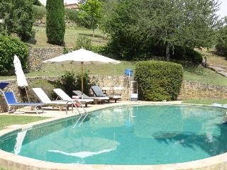 La Pergola: A Delightful Country Villa with Gardens and Pool in Southern Tuscany, Sleeps 4-12 - San Donato vacation rentals