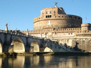 RARE FIND! Super Central, Ideal for big Groups, Views of St.Angelo's Bridge! - Roma vacation rentals