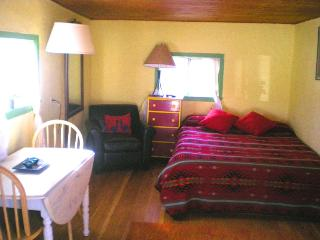 O'Keefe Green Cabin on organic goji berry farm - San Cristobal vacation rentals