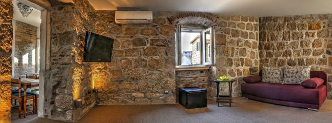 Living room, first etage - Two bedroom villa Veli Varos Split center - Split - rentals