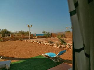beach-front garden level two bedroom apartment - Nahariya vacation rentals