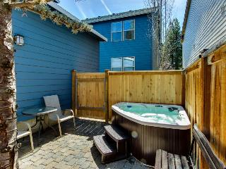 Second story loft with enclosed patio and private hot tub - close to town! - Oretech vacation rentals