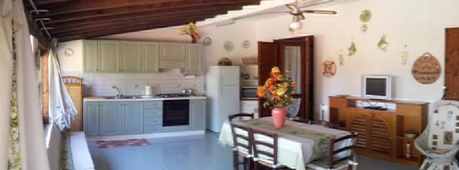 Soggiorno cucina - Chalet with garden on the sea - Olbia - rentals