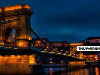 Chain Bridge beauty with fireplace - Budapest & Central Danube Region vacation rentals