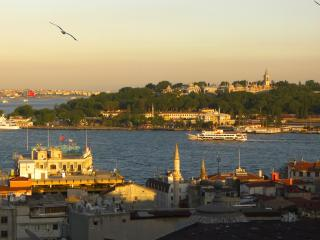 Bosphorus & Old City views near Galata Tower (T2 - Istanbul & Marmara vacation rentals